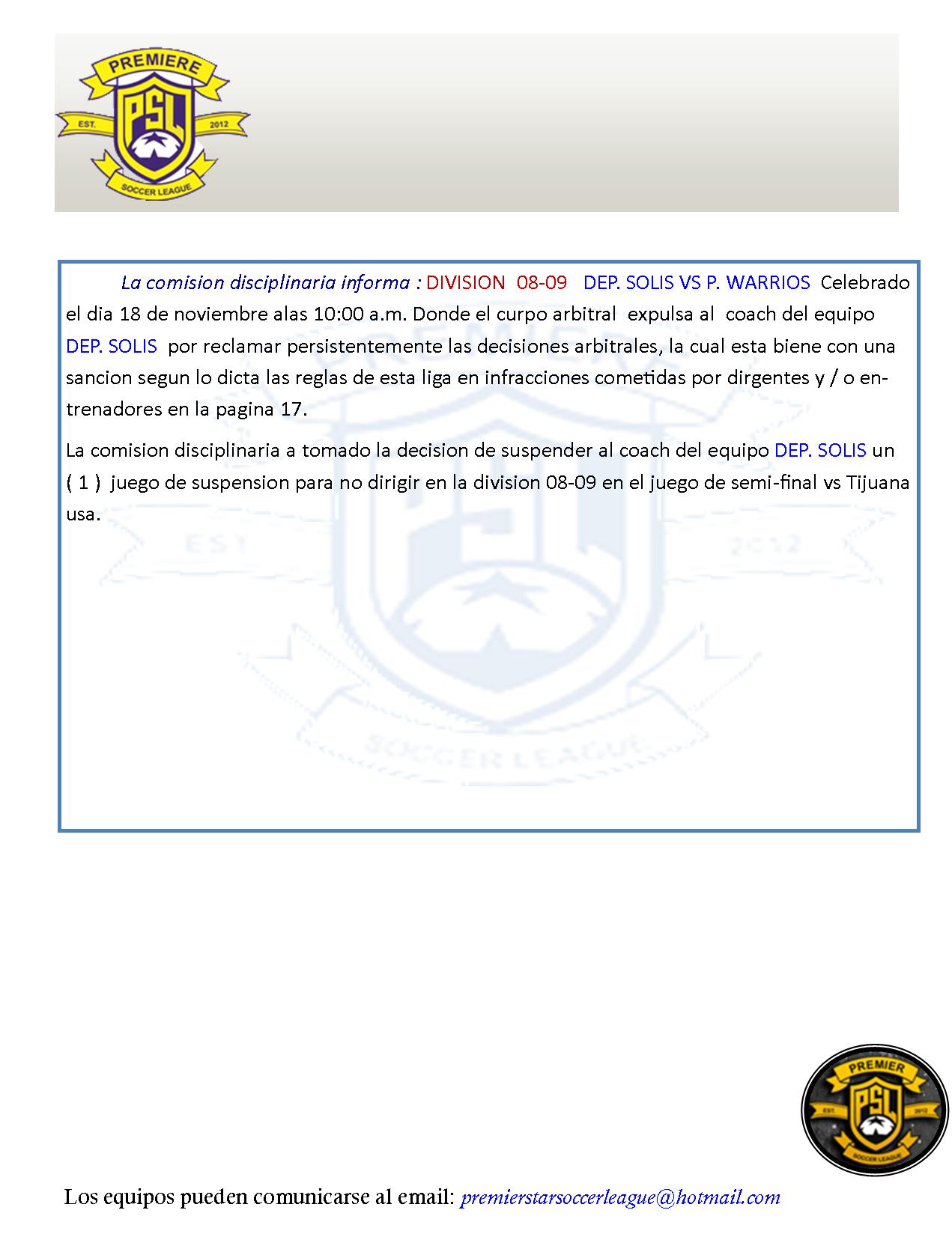 11182018 DIV08-09SOLIS COAEXPU